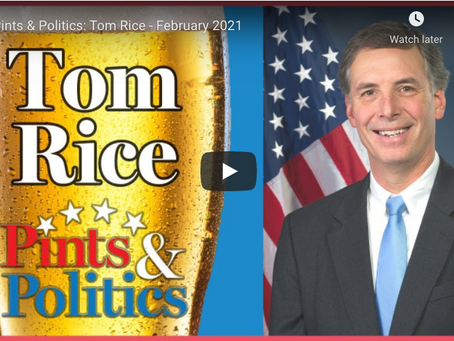 WATCH: Tom Rice Featured on Pints & Politics