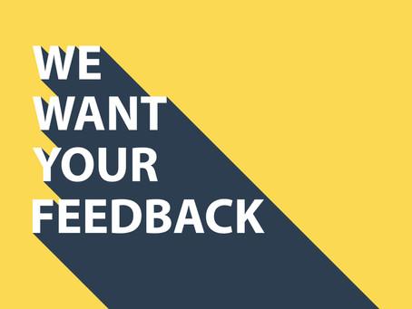 Please Take Our Survey!