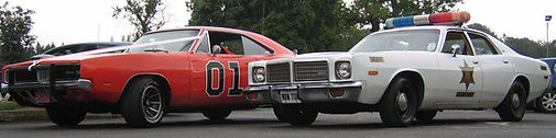 Dukes Of Hazzard cars