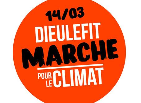 Dieulefit marche pour le climat ! Samedi 14 Mars 13h30