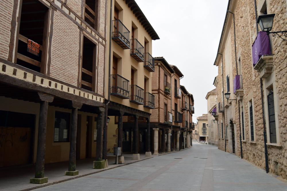 Calle Mayor de El Burgo de Osma.
