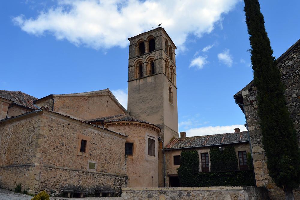 Iglesia de San Juan de Pedraza.