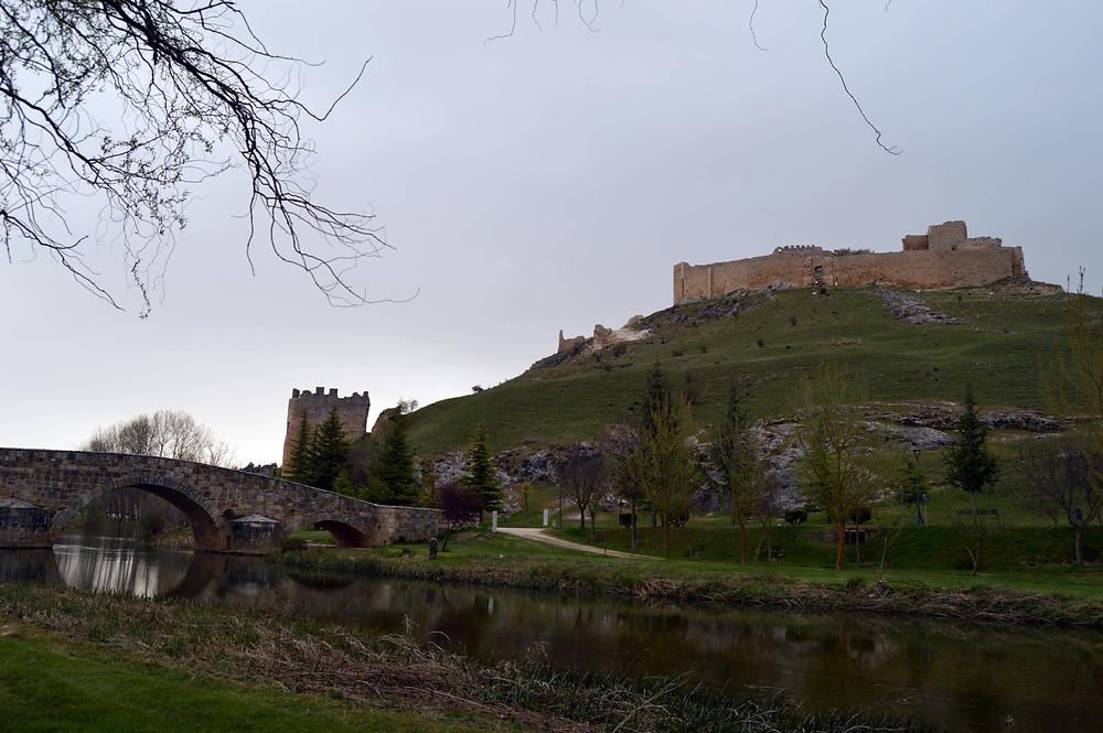 Vista general del castillo.