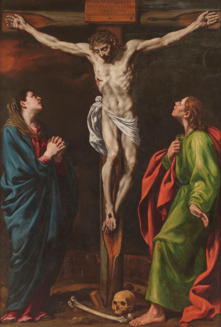 El Calvario de El Greco. Foto: Museo del Prado.