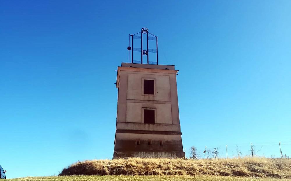 Torre del telégrafo óptico en Adanero.