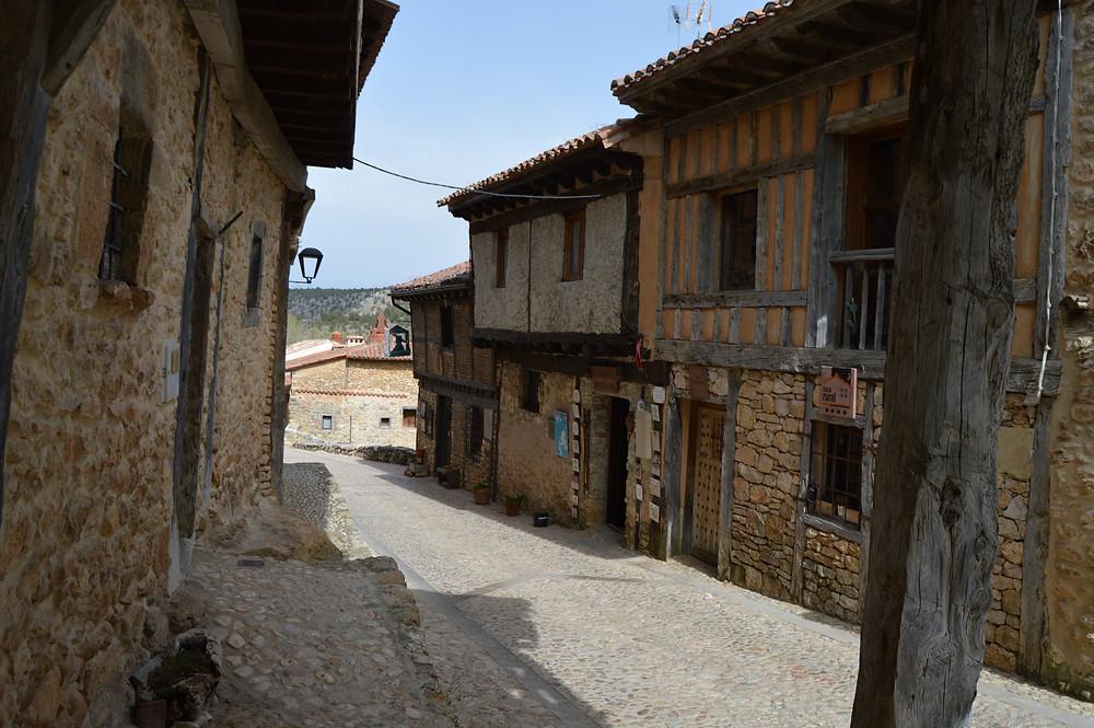 Calle Real de Calatañazor.