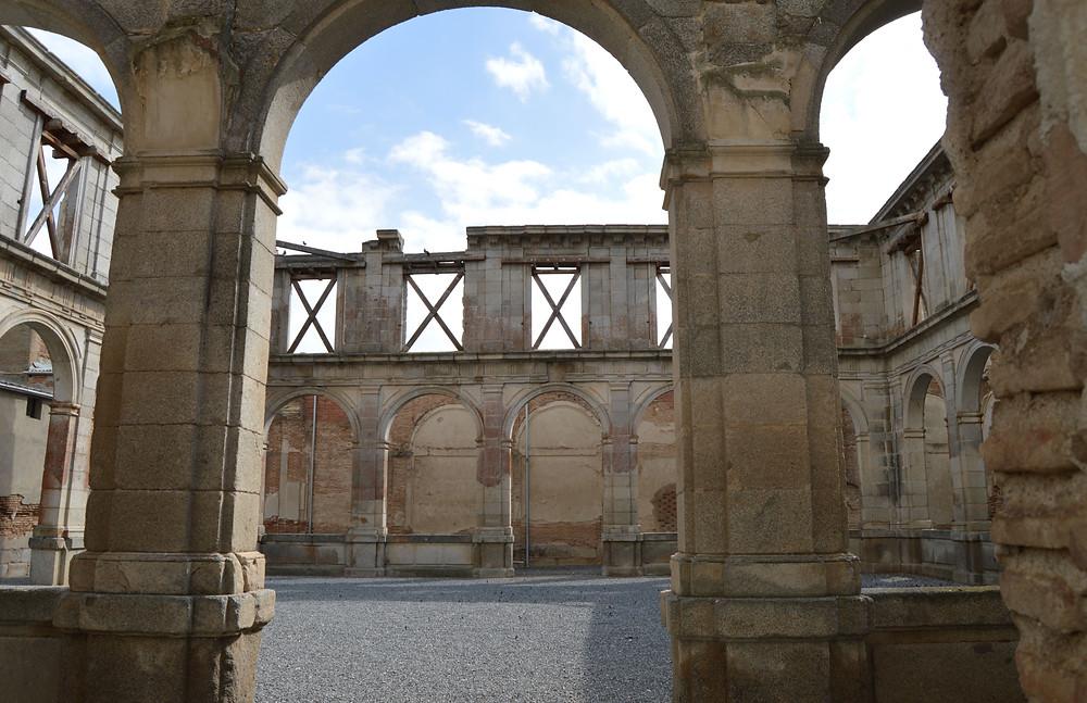 Claustro del Convento Agustino de Extramuros.