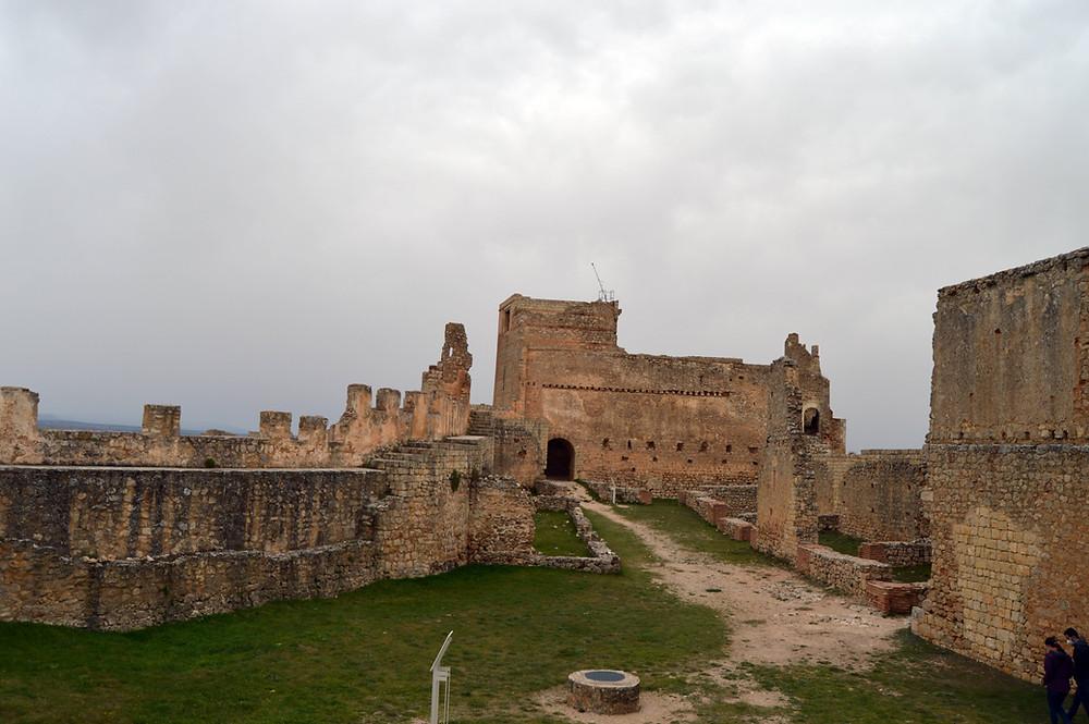 El Alcázar, zona noble de la fortaleza.