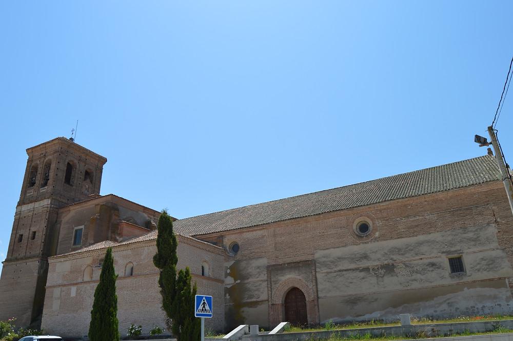 Iglesia de San Cipriano de Fontiveros.