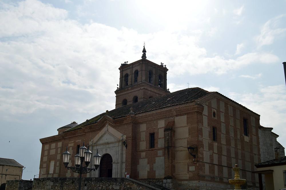 Iglesia de Santiago Apóstol de Alcazarén.