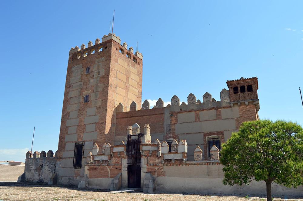 Castillo de Narros de Saldueña.