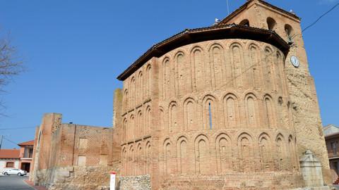 Alcazarén, belleza resultante de la mezcla de los estilos románico y mudéjar