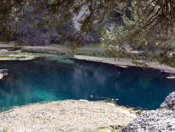La Fuentona, un lugar único de aguas cristalinas en pleno corazón de Soria