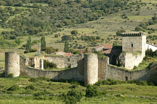 Castillo de Bonilla de la Sierra.