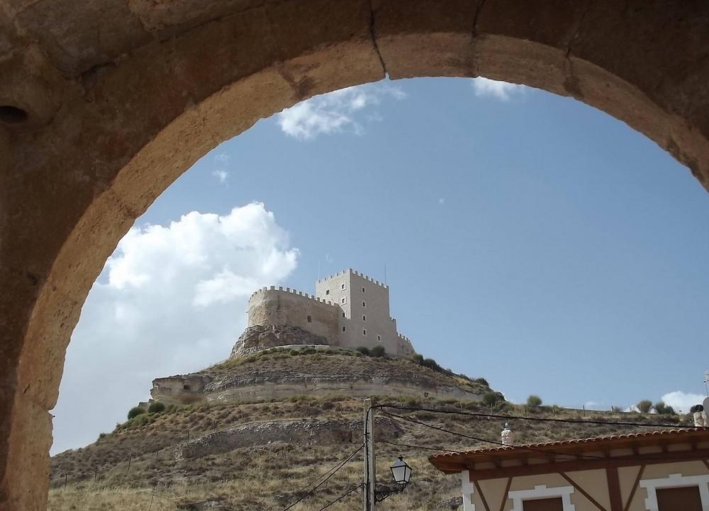 Castillo de Curiel de Duero.