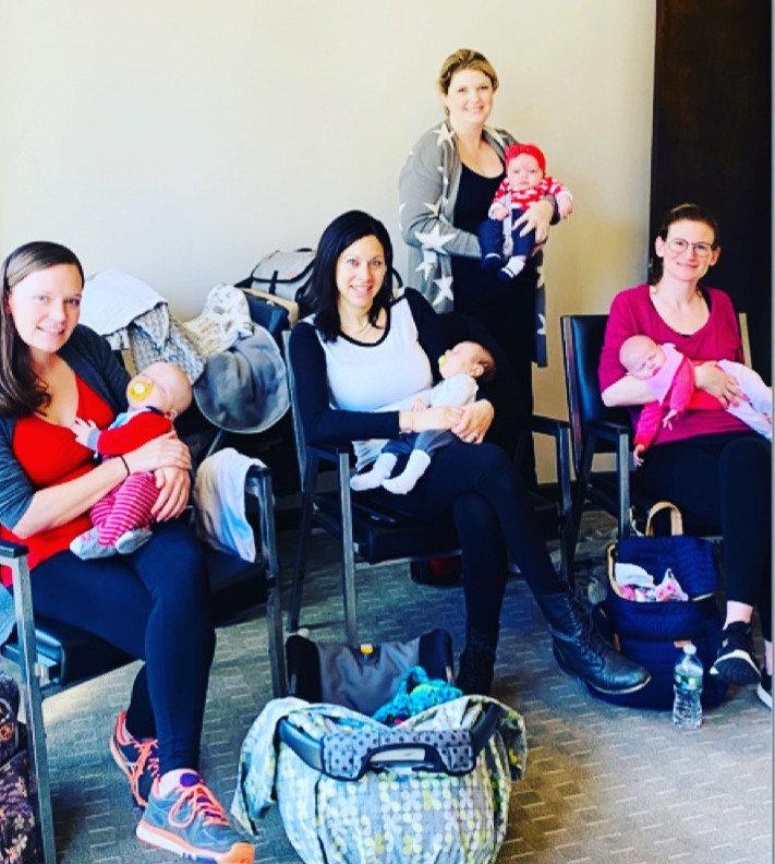 Virtual New Moms Monday