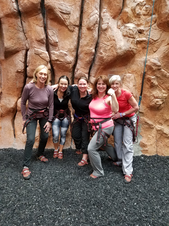 An active weekend filled with wall climbing, hiking, and laughter with brilliant women filled my spi