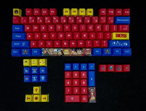One Piece PBT 108 Keycaps Set