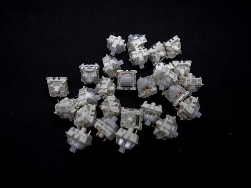 Gateron White 3 Pin RGB Switches (Set of 4)