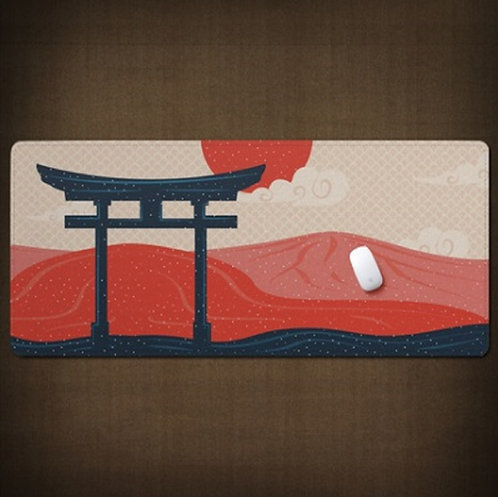 Torii Gate Japanese Desk Mat
