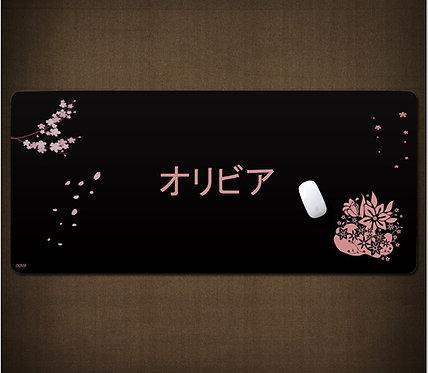 Olivia Japanese Desk Mat