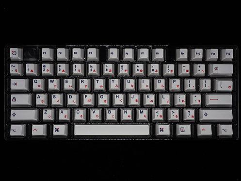 Japanese PBT Kon Momo Keycaps Set