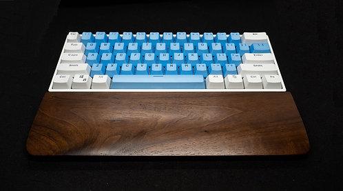 Dark Walnut Wood Keyboard Wrist Rest