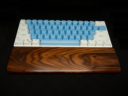 Rosewood Keyboard Wrist Rest