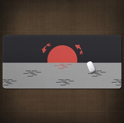Rising Sun Japanese Desk Mat
