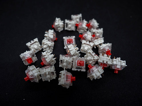 Gateron Red 3 Pin RGB Switches (Set of 4)