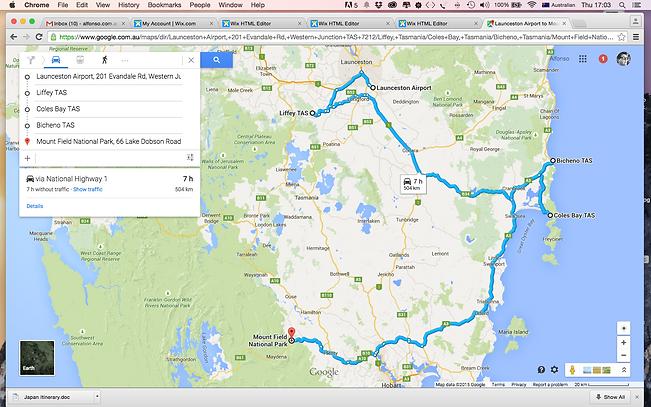 Australian Photography Courses - Tasmania Itinerary