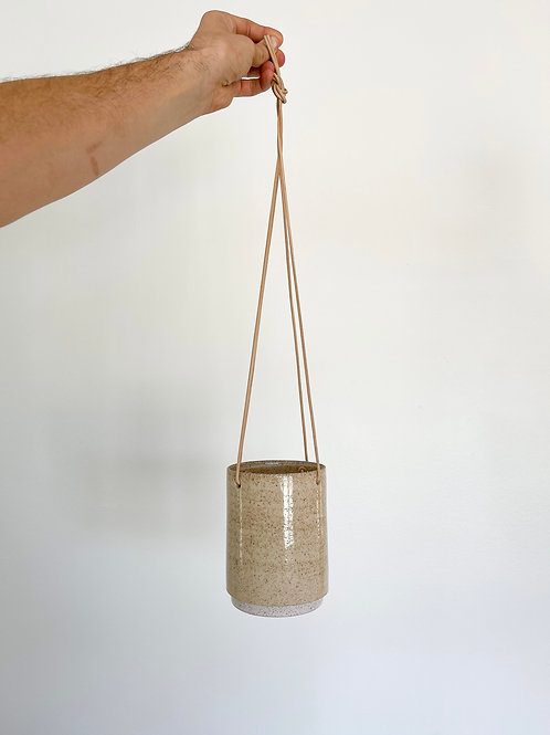 "5"" Hanging Pot - Sand"