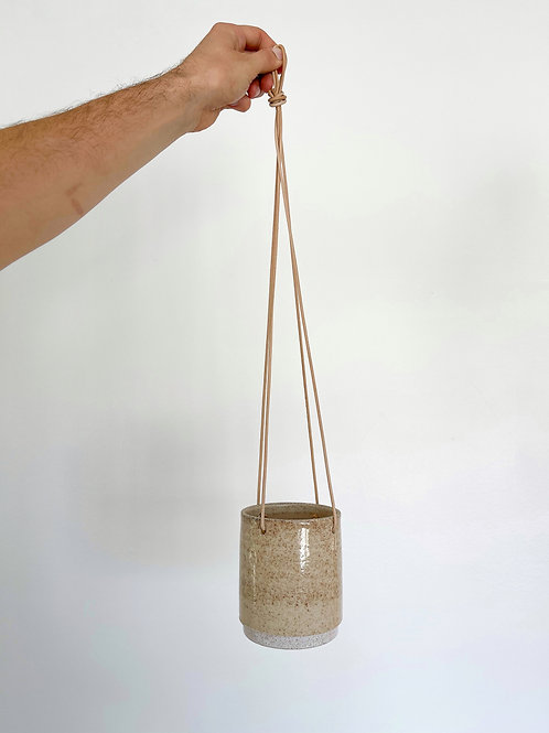 "4"" Hanging Pot - Sand"