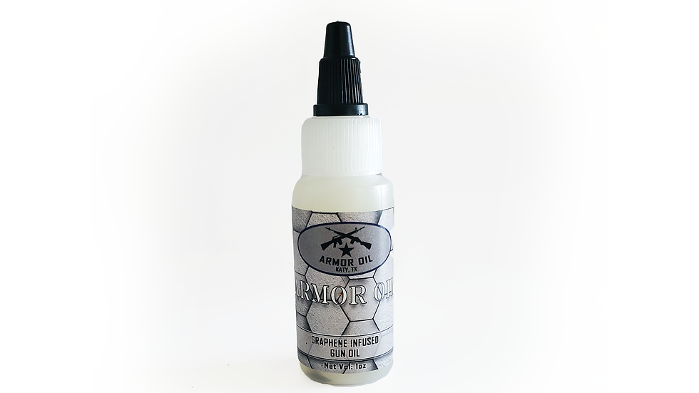 Armor Oil | Graphene Infused Gun Oil | 1oz
