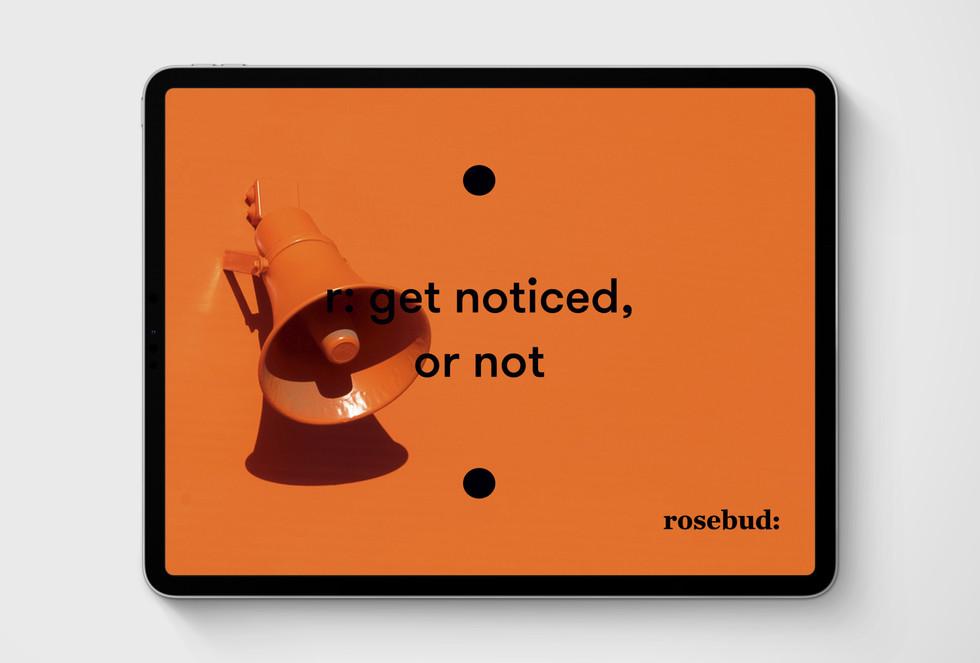 rosebud: