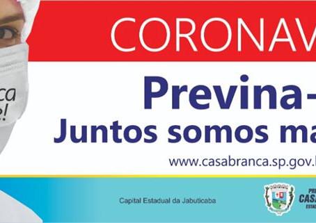 ALERTA! PREFEITURA CONFIRMA DOIS CASOS SUSPEITOS DO NOVO CORONAVÍRUS