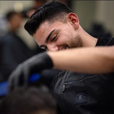 Brian The Barber Cutting Hair