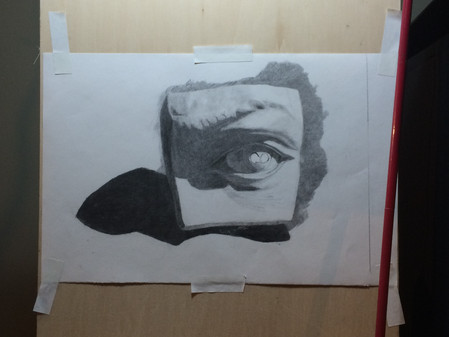 Charcoal and Paper