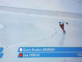 Guro Ruden Brørby nr. 16 i junior NM allround
