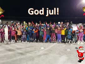 Skøyteskole og nisseløp 18. desember