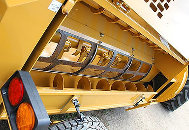Haybuster 2574 rotor auger screen