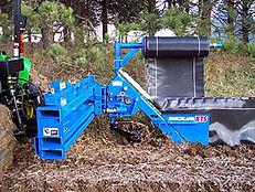Burchland XTS Silt Fence Installer, erosion control, erosion an sediment control, erosion control attachment