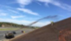 Apex hydroseeding equipment, hydroseeder, erosion control, spray matt, flexterra, proganics