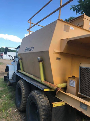 Reinco HG-13GX Hydroseeder on Military Truck