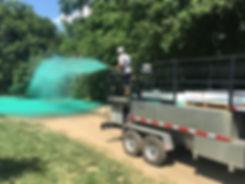 Apex 1200 gallon hydroseeder