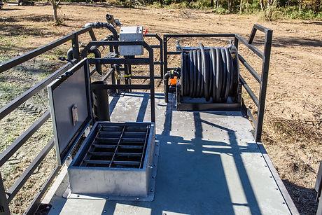 Apex Hydroseeder, erosion control, hydroseeding, finn t120, epic C120, bowie victor 1100, reclamation seeding