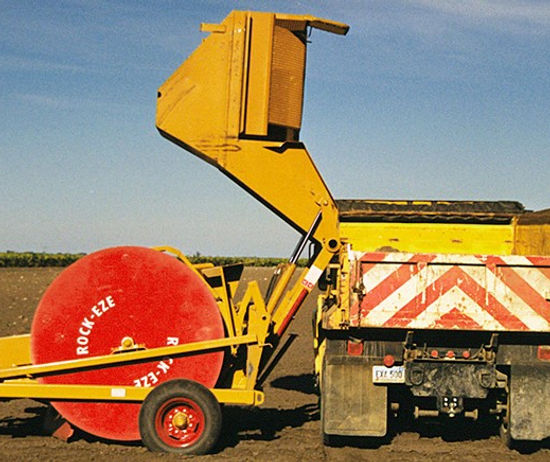 Haybuster 3106 Rock Picker, erosion control, ground prep, seedbed prep