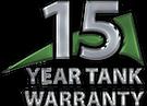 Apex 15 Year Tank Warranty