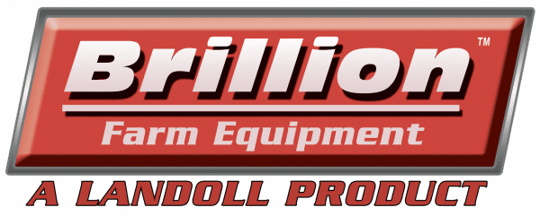 Brillion Seeder logo, brillion, landoll, no till seeder, no till drill, cultipacker, best seeder