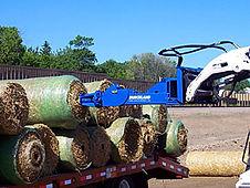 Burchland EZR Blanket Roller, straw blankt installer, erosion control equipment